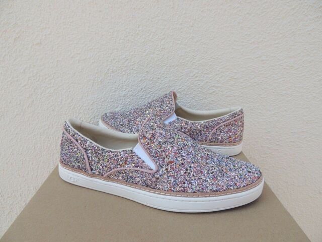 29324780081 UGG Adley Chunky Glitter Confetti Sparkly Slip on Women`s Shoes Size US 10