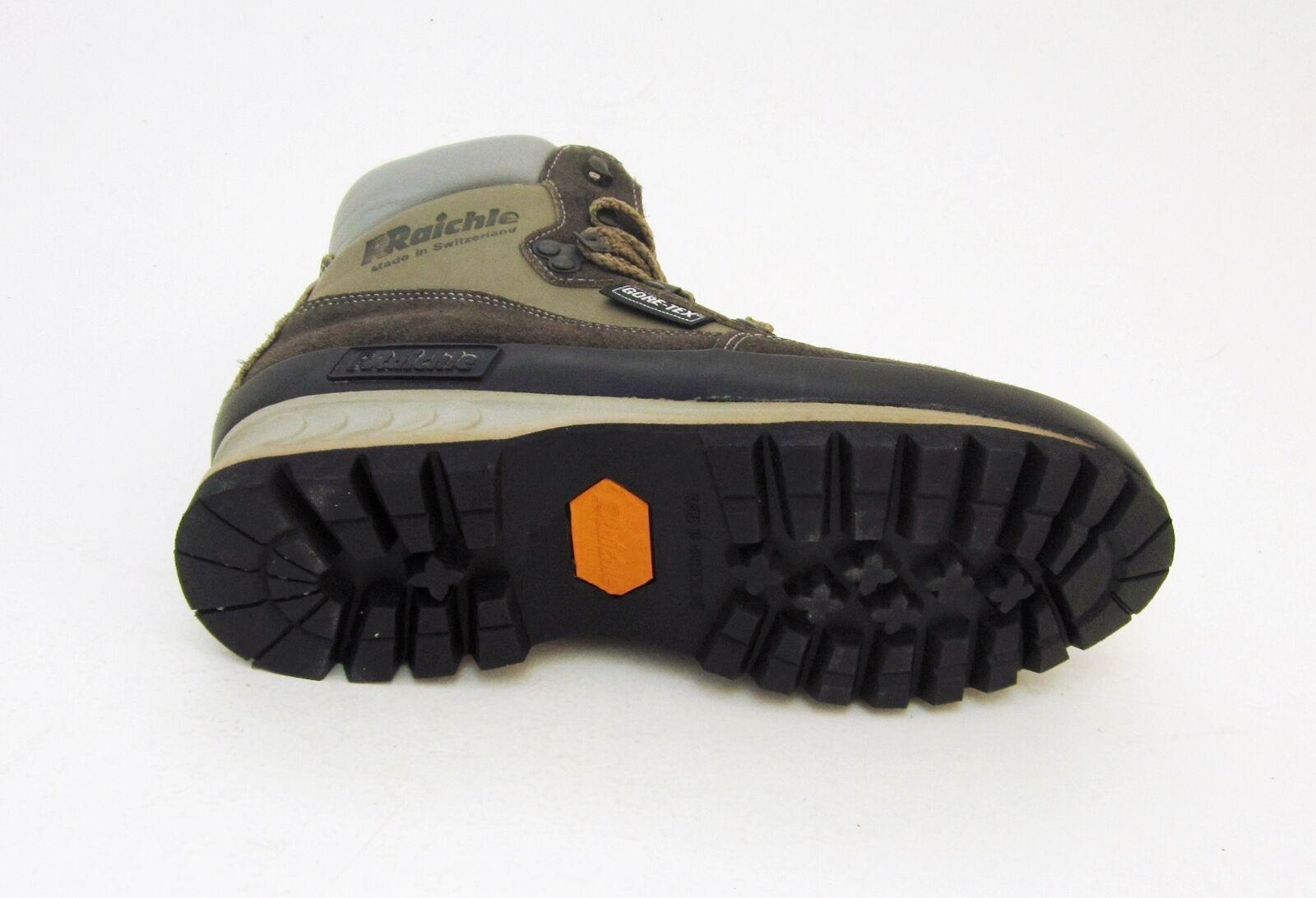 Stiefel Raichle Trekking Stiefeletten Echtleder Gummi Schnürer grau GR. GR. grau 5,5 = 38,5 4b0623