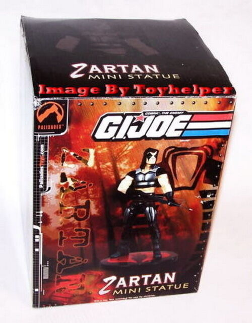 GI Joe Zartan Mini Statue Palisades Low  1200 NIB