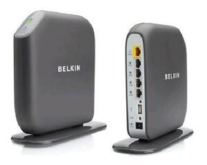 Belkin f7d3302 300 mbps 4 port 10100 wireless n router share n300 image is loading belkin f7d3302 300 mbps 4 port 10 100 greentooth Gallery