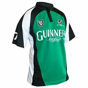 2e16df507cb Guinness Limited Edition Performance Rugby Jersey 819307016009 | eBay