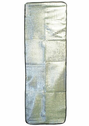 Mousse /& Heat Reflective Feuille thermique Camp Bed Liner /& Randonnée Roll Up Sommeil Tapis