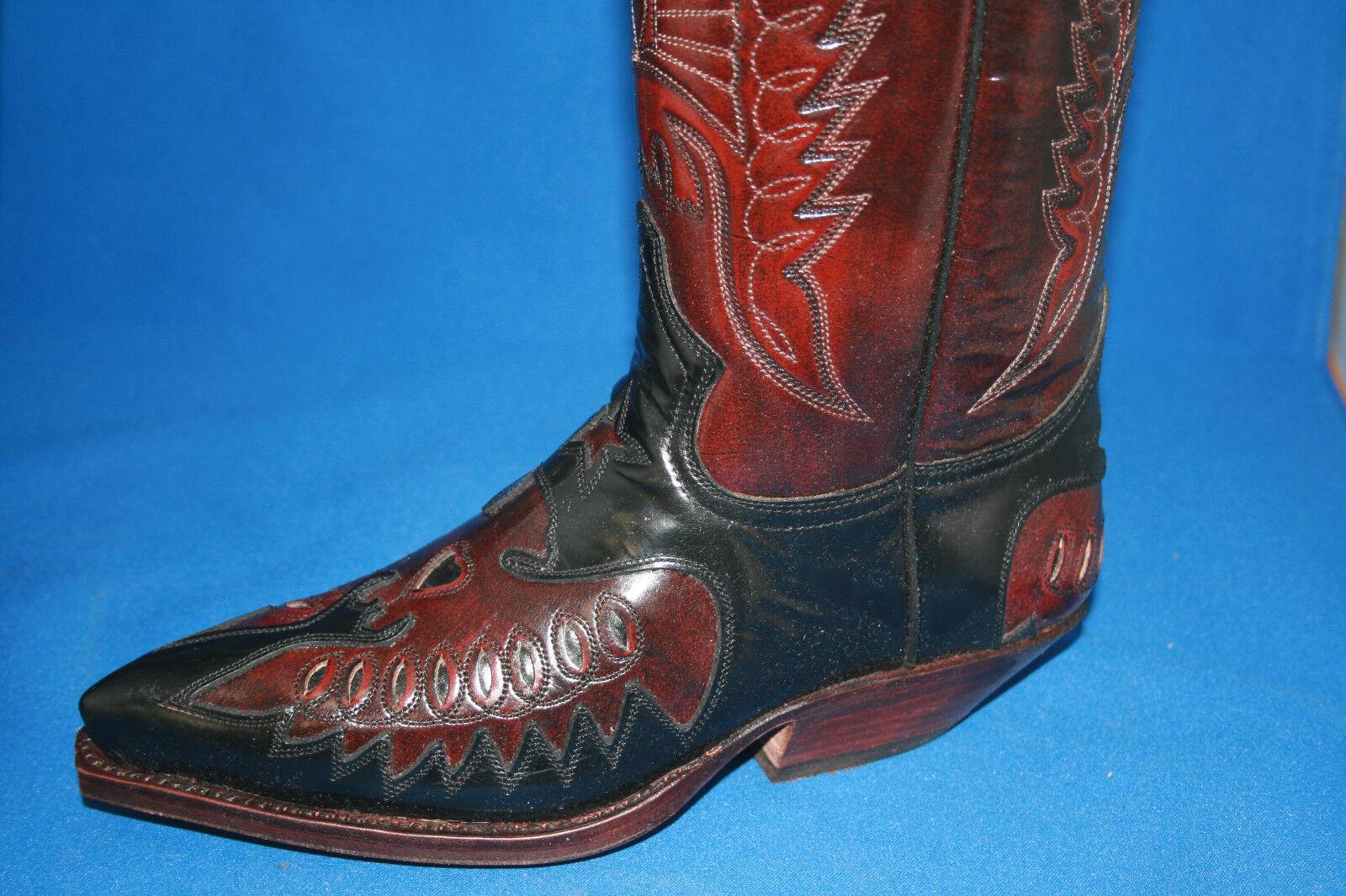 Sendra neu Stiefel  cowboystiefel westernstiefel neu Sendra design  leder handmade  gr. 40 4d5da7