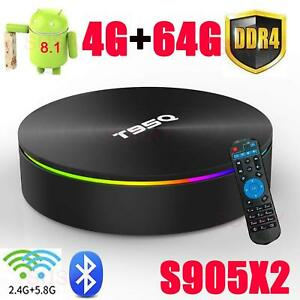 Details about T95Q Model Android8 1 3D smart TV Box Media Player HD  Quad-Core 4GB+64GB ko id