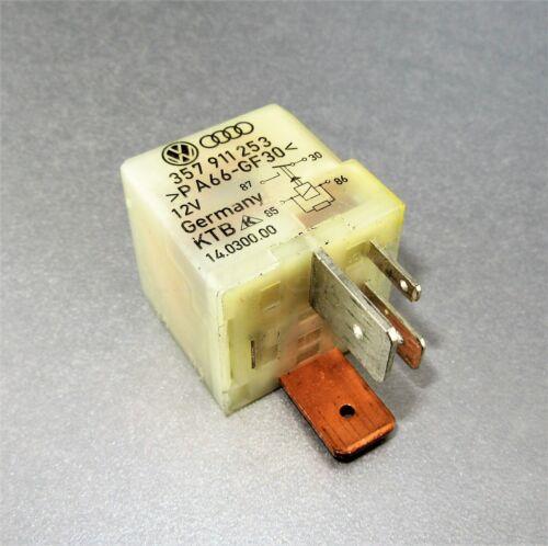 480-Audi VW Ford 4-Pin Cream Glow plugs Relay 357911253 KTB 14030000 No 103