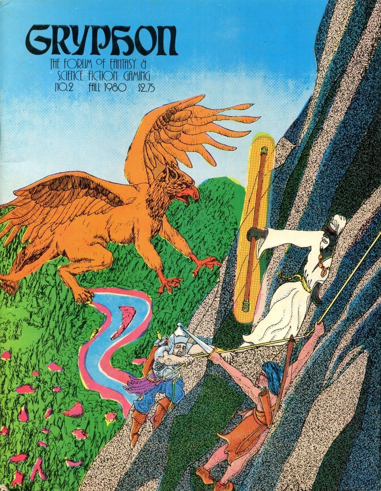 GRYPHON MAGAZINE  2 FALL 1980 FANTASY RPG EXC