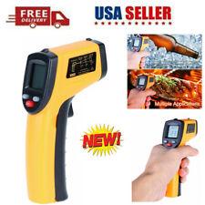 Digital Infrared Thermometer Lcd Ir Temperature Guns Laser Pyrometer No Contact