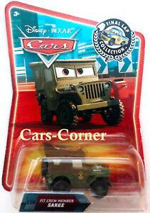 Disney-Pixar-Cars-1-Pit-Crew-Member-Sarge-Final-Lap-Collection-2007-NEU-amp-OVP
