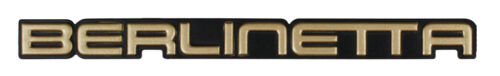 1985 1986 Camaro Berlinetta Front End Panel Emblem Berlinetta