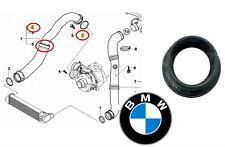 BMW E46 E60 E61 ORIGNALE GUARNIZIONE INTERCOOLER MANICOTTO ARIA TUBO 11617791235