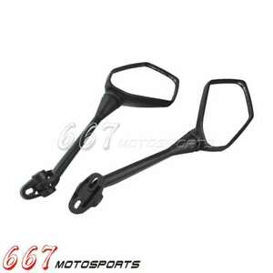 Dirt Bike Motorcycle Left Right Side Rear View Mirrors For Honda RC51//RVT 00-06