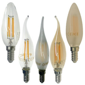 e14 led leuchtmittel gl hbirne lampe kerze birnen warmwei. Black Bedroom Furniture Sets. Home Design Ideas