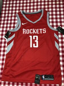 1331b86da062 NIKE NBA HOUSTON ROCKETS JAMES HARDEN JERSEY ICON EDITION AUTHENTIC ...