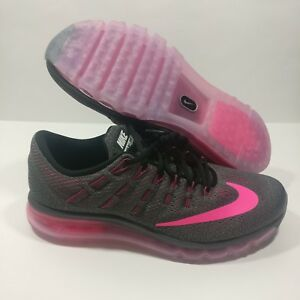 f7b098a5a3d Details about Womens Nike Air Max 2016 Athletic Shoes Sneakers GREY/PINK  806772 016 Size 11.5