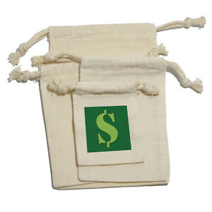 Image Is Loading Dollar Sign Money Muslin Cotton Gift Party Favor