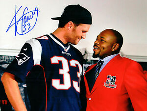 Kevin Faulk New England Patriots Signed Autographed 8x10 Photo Tom ...