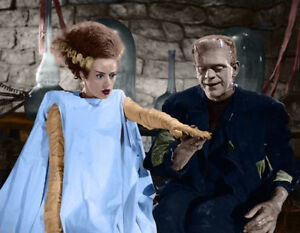 """Famous Monsters The Bride of Frankenstein Print 14 x 11"""""""
