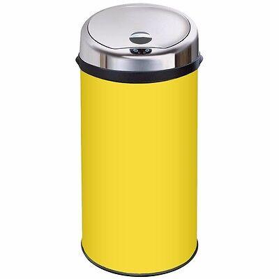 Inmotion Yellow Stainless Steel Auto Sensor Kitchen Waste Bin