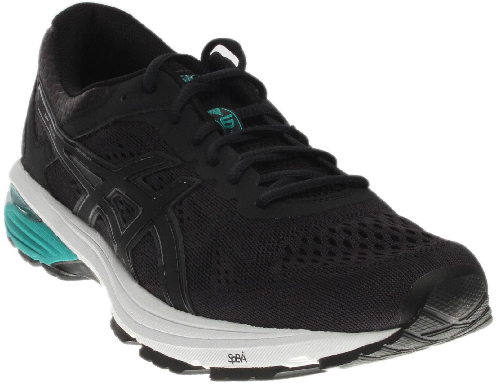 6bbe50691bc7 ASICS Mens Gt-1000 6 Running-shoes Phantom black peacoat US 9 M for ...