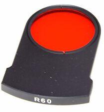 Yashica C/y 500mm f8 rojo montaje posterior de R60 - === como nuevo ===