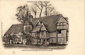 CPA-Environs-de-Ancien-Manoir-des-Eveques-de-Lisieux-a-Canapville-516065