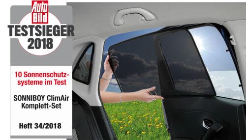 2001 bis 2008 Scheibennetz ClimAir Sonniboy Sonnenschutz Audi A4 Avant B6 B7 Bj