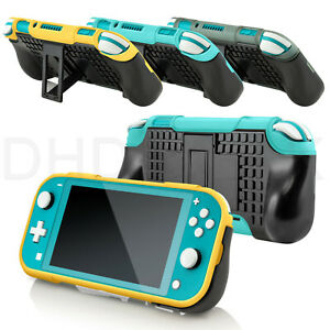 Protective TPU Hard PC Hybrid Back Cover Stand Grip Case for Switch Lite 2019