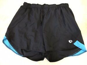 gran selección de 7c43e 7d7dd Detalles de Pearl Izumi Negro Pantalón Corto Deportivo, Mujer Talla M