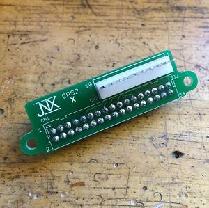 s l300 cps1 to cps2 kick harness adapter arcade retro capcom cps3 ebay