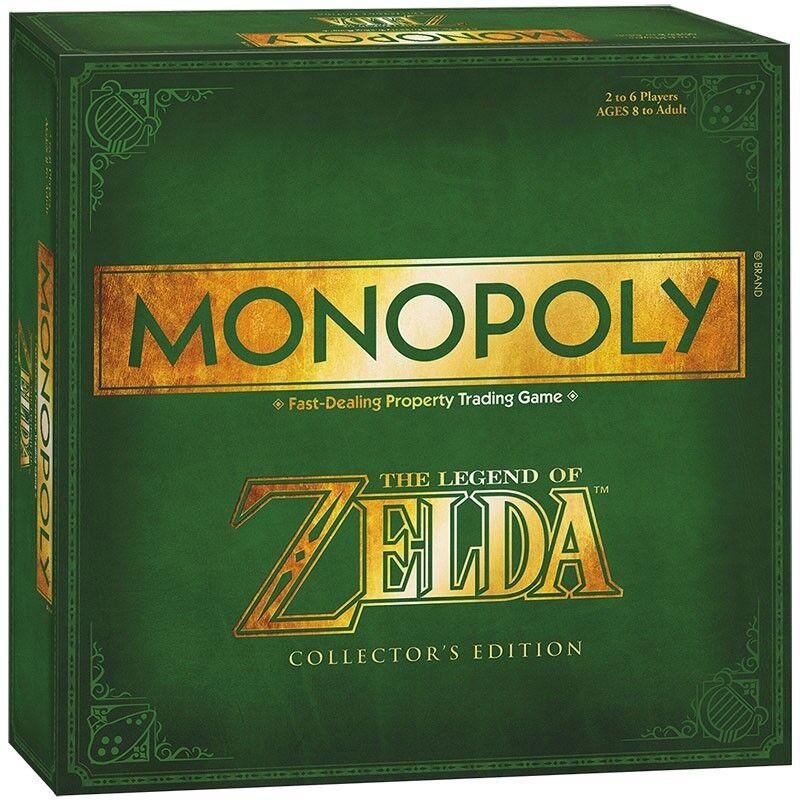 Monopoly Zelda Gioco da Tavolo Gesellschattspiel Gioco Inglese Nuovo