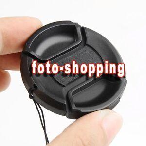 Tappo Universale Copriobiettivo Clip Molla 58mm Lens Cap Universal Pourtant Pas Vulgaire