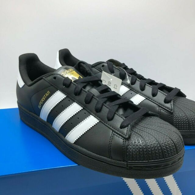 sports shoes 76a75 068ab *NEW* MENS ADIDAS ORIGINALS SUPERSTAR BLACK (B27140), Sz 9.5-13, 100%  AUTHENTIC!