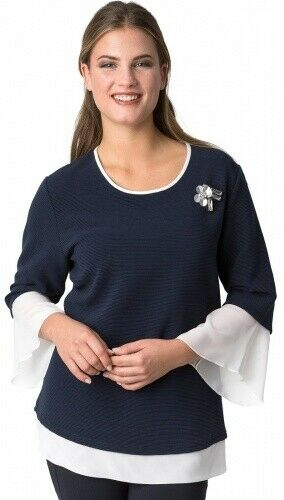 Rabe Two in one Shirt mit Tulpenarm