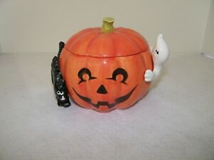 Fitz and Floyd Halloween Candy Bowl