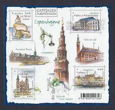 2012 Bloc n° F4637 Capitales Européenne COPENHAGUE  NEUF**LUXE