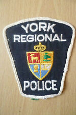 Patches: YORK REGIONAL CANADA POLICE PATCH (NEW* apx.10x9 cm)