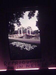 Photo-slide-Holland-Michigan-Draw-Bridge-Canal-River-Netherlands-Reproduction