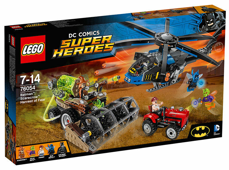 LEGO® DC Universe Super Heroes 76054 Batman Scarecrows gefährliche Ernte NEU OVP