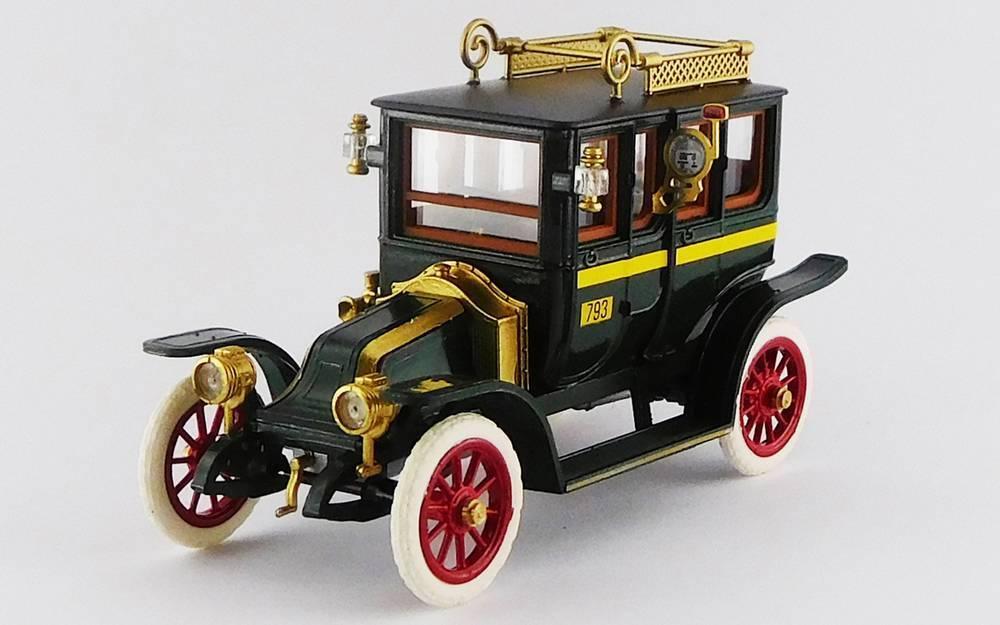 Renault Tipo X Taxi Taxi Taxi verde 1907 1 43 Rio 7ed9ac