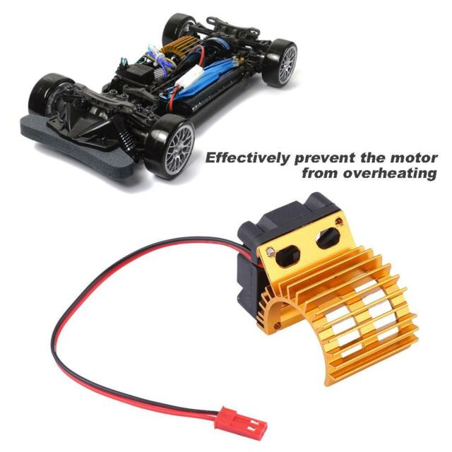 Heat Sink With Cooling Fan Mount For 1 10 Electric Rc Car 380 390 Motor Parts