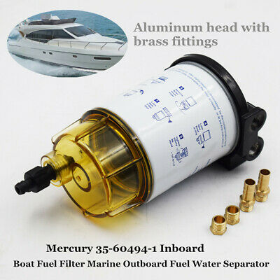 mercury fuel water filter boat fuel filter marine outboard fuel water separator mercury 35  boat fuel filter marine outboard fuel