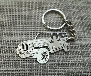 Jeep Wrangler Keychain By Your Picture Custom Gift Ebay