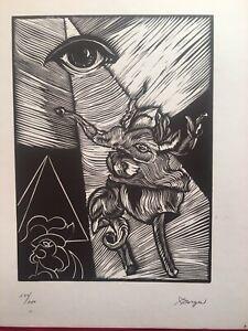 Serigraph by Pablo Borges Delgado  ̈Juego ̈, original Signed, Huella Multiple
