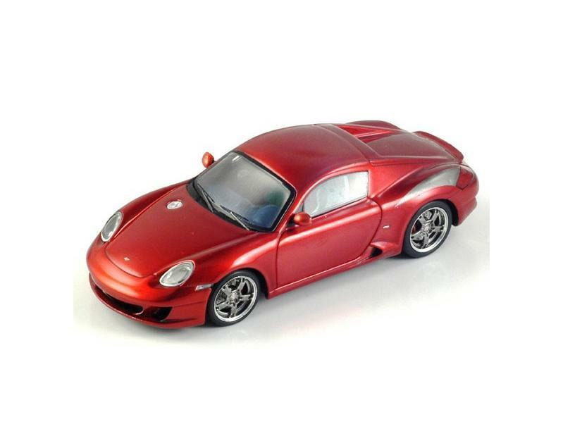 Porsche RUF RK COUPE 2006 Red S0709 Spark 1 43 NEW in a Box