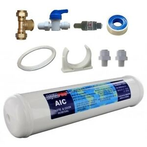 Water Filter Connection kit / connect Fridge Ice maker Kitchen Appliance 1/4""