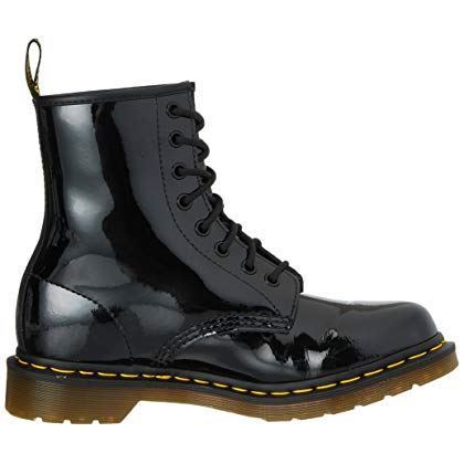 538806689b2 Dr. Martens 1460 - 8 Eye Boot Patent BOOTS Black Eu39