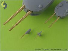 BORODINO ARMAMENT SET (56 BARRELS - 305, 152, 75, 47mm) #350059 1/350 MASTER
