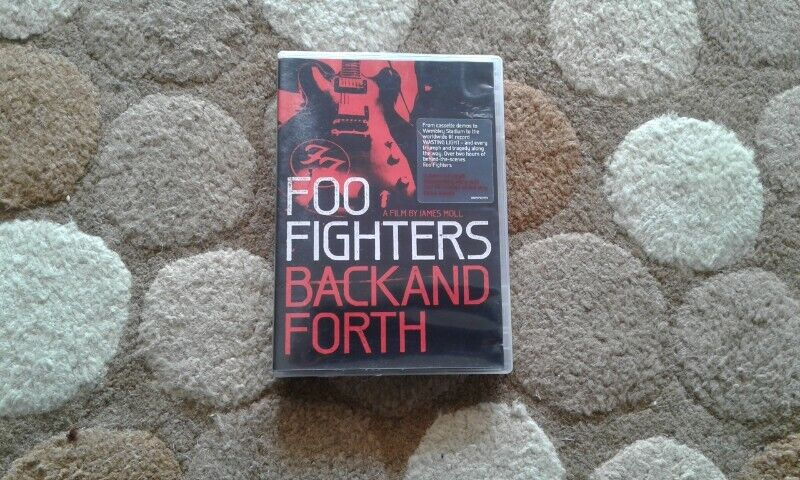 Foo Fighters Back and forth dvd for sale