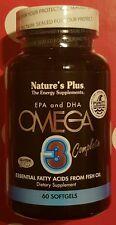 Nature´s Plus Omega 3 complete - 60 Kapseln - neu & unbenutzt ovp in Folie veggi