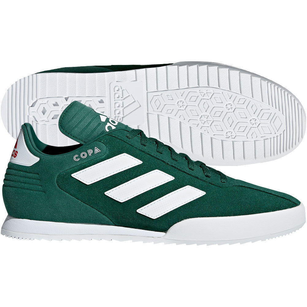 Adidas Copa Super Suede Green   White   Red Indoor Soccer shoes Germany B37086